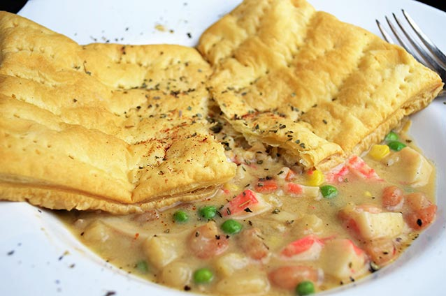 Seafood Pot Pie