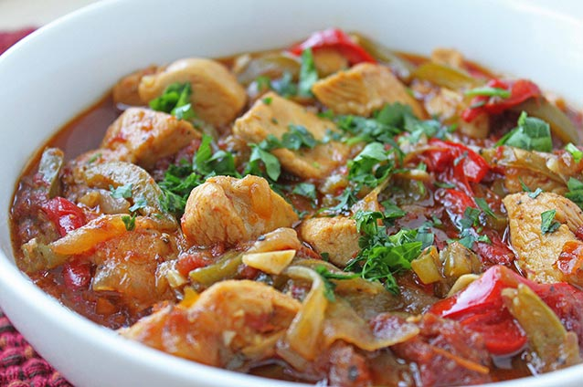 Turkey Tomato Stew