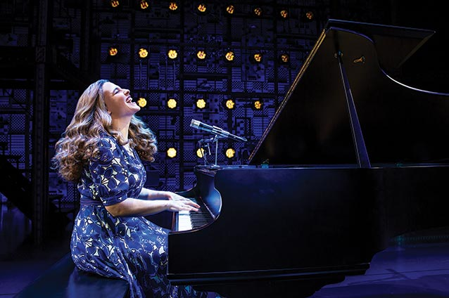 Beautiful Sarah Bockel as Carole King