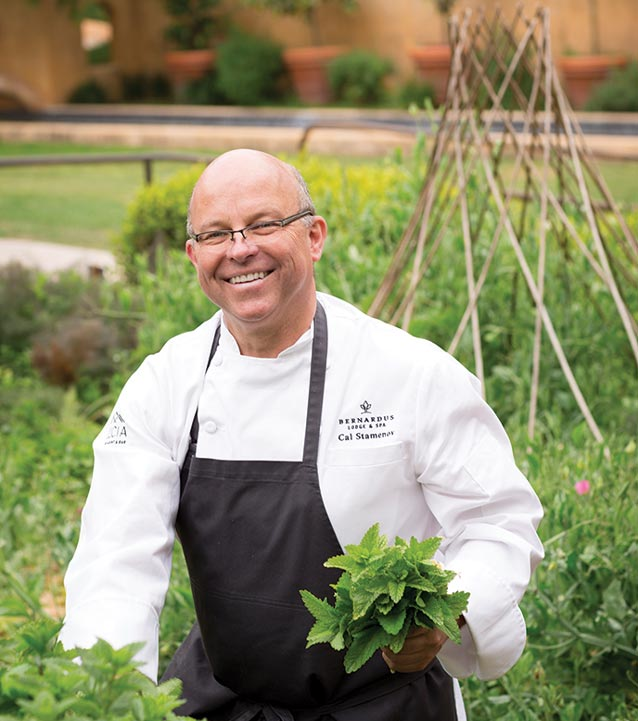 Chef Cal Stamenov's farm-to-table California country cuisine - where Old-World Craft meets New-World Creativity