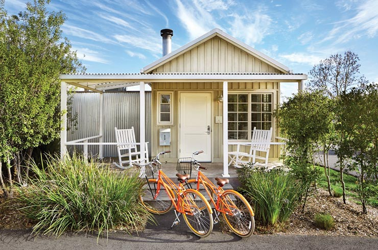 Cottage and Bikes 1