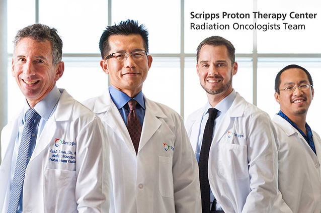 Proton team: The Scripps Proton Therapy Center medical and scientific teams have more than 90 years of combined experience in proton therapy.