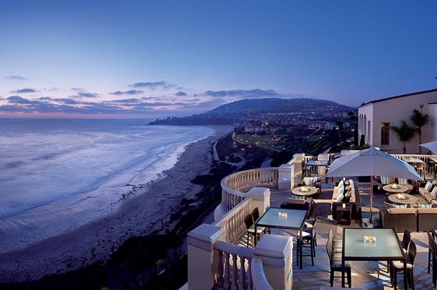 Seaside Dining at the Ritz-Carlton,  Laguna Niguel: enoSTEAK & 180blu