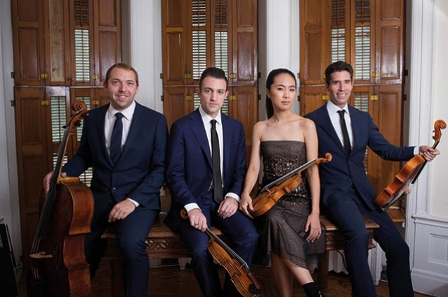 The Escher  String Quartet  Opens  Segerstrom Center's 2018-2019  Chamber Music Series