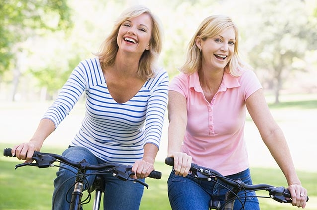 Live, Laugh, Leak?  Stop limiting your activities. Pelvic Floor Rehabilitation can help!