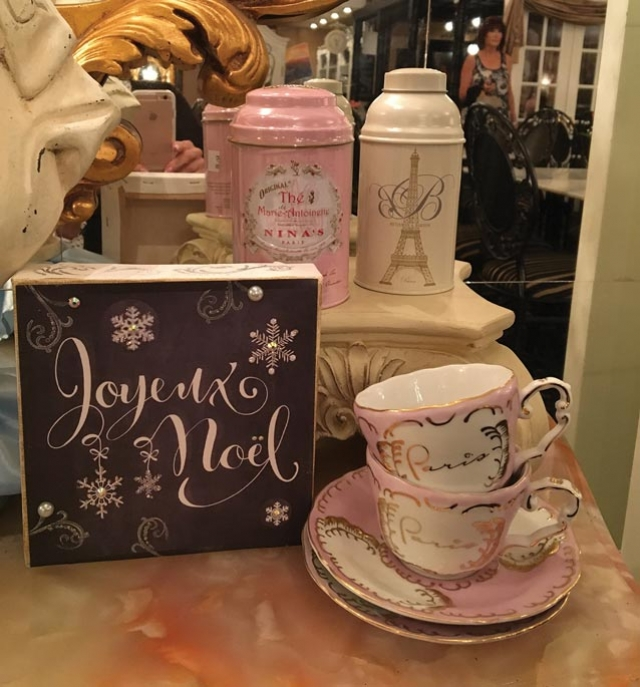"Paris in a Cup:   French Flair, Lunch Fare, Great Gifts and Holiday ""SpecialTeas!"""