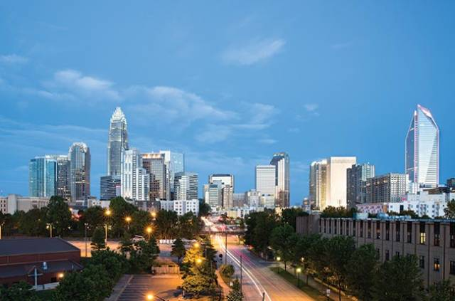 Visiting (like) Royalty  in the Queen City Charlotte  North Carolina