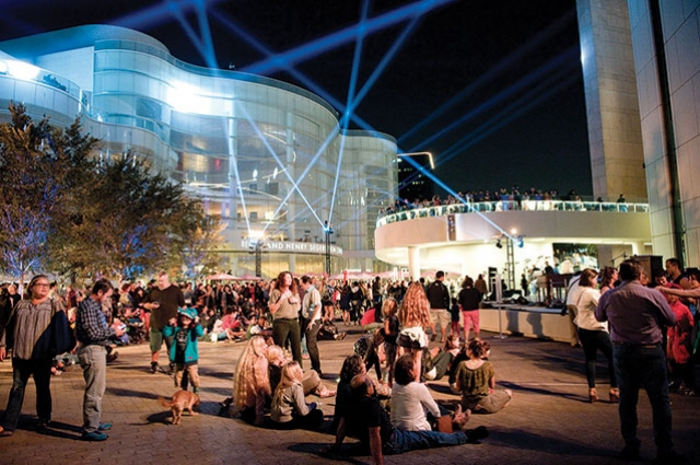 Segerstrom Center for the Arts  Celebrates  Opening of Julianne and George Argyros Plaza and Center for Dance  and Innovation