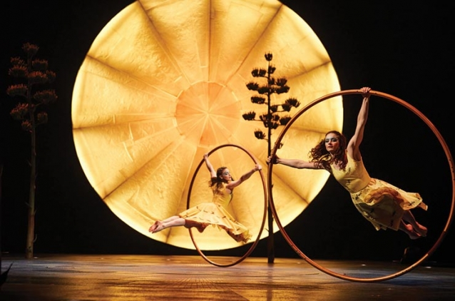 Cirque du Soleil  comes to Costa Mesa  with its breathtaking and heart-warming production LUZIA