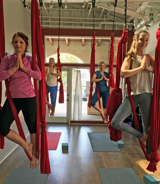 5 Reasons to do Aerial Yoga