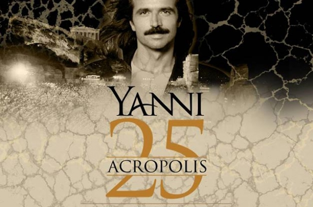 "Yanni Celebrates  25th Anniversary  of His Iconic ""Live at the Acropolis"" Concert  Segerstrom Center for the Arts  June 10, 2018"