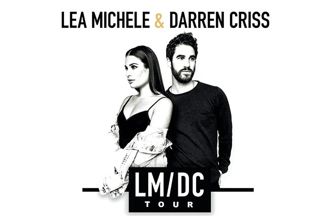 Lea Michele  and  Darren Criss  Continue LM/DC Tour With North American West Coast Dates