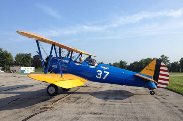 World War II Veterans + Female Seniors (ages 83-97) to Soar Over Orange County in Vintage WWII Biplane April 7