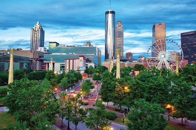 36 Hours  in Atlanta the capital city of the New South