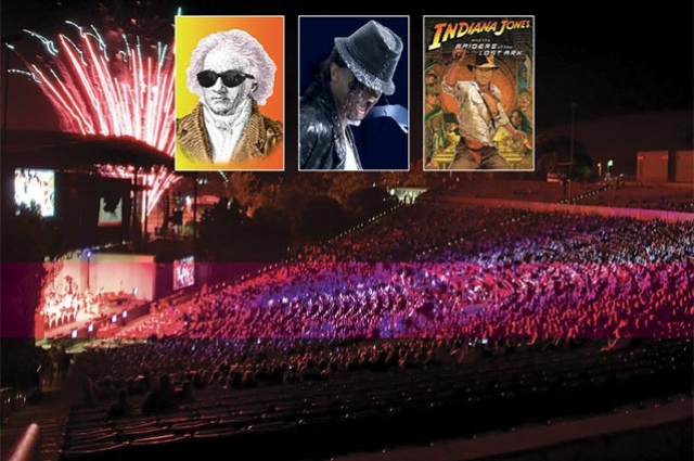 Pacific Symphony's Grand Finale Summer Festival At Irvine Meadows Amphitheatre
